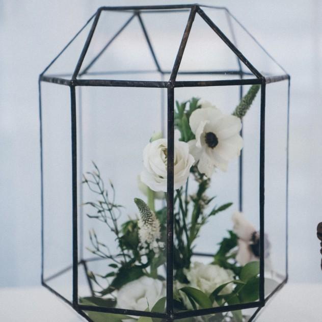 """Флорариум """"Цветы в стекле"""""""