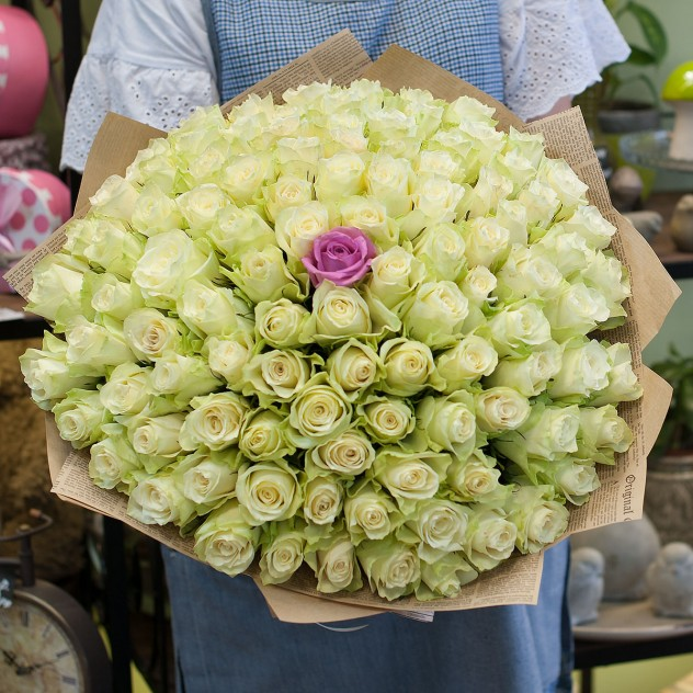 Букет из роз (101 роза)
