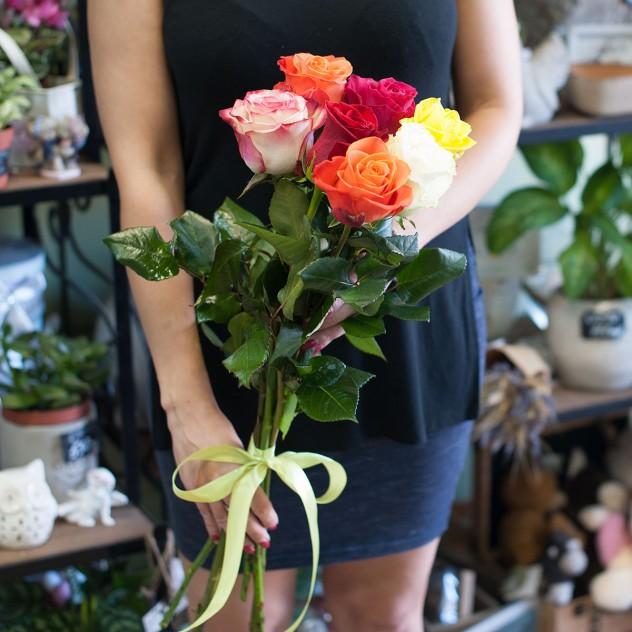 Букет роз (7 роз)