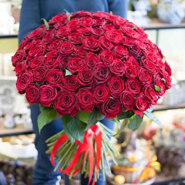 Букет из роз (101-а роза)